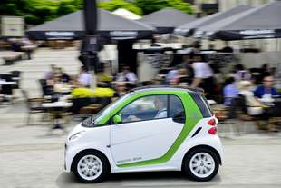smart fortwo coupé 2 electric drive