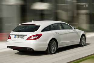 mercedes cls shooting
