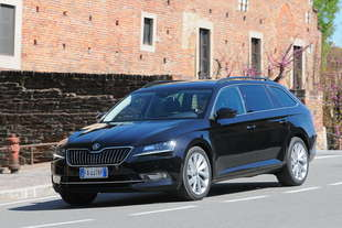 skoda superb wagon tdi