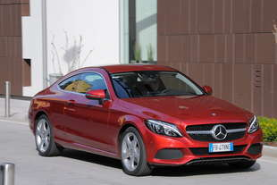 mercedes c coupe 220 cdi