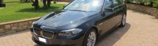 Prova BMW Serie 5 Touring 520d Futura Steptronic