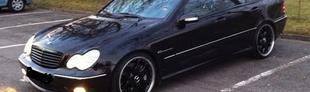 Prova Mercedes C 32 Kompr. AMG Kubanite