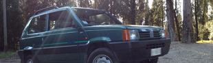 Prova Fiat Panda 4x4 1100 i.e. cat Country Club