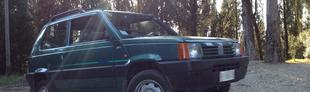 Prova Fiat Panda 4x4 1100 i.e. cat Country Club