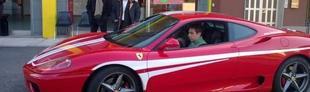 Prova Ferrari 360 Modena F1