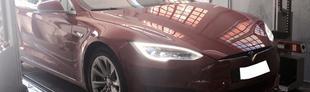 Prova Tesla Model S 85 kWh