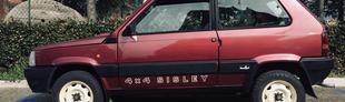 Prova Fiat Panda 4x4 1000 Sisley