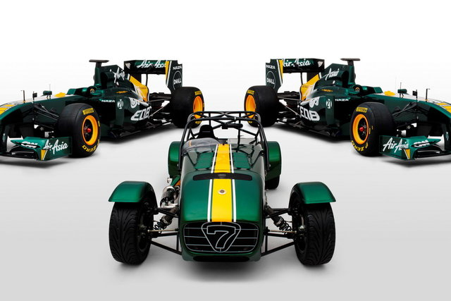 Il Team Lotus F1 acquista la Caterham