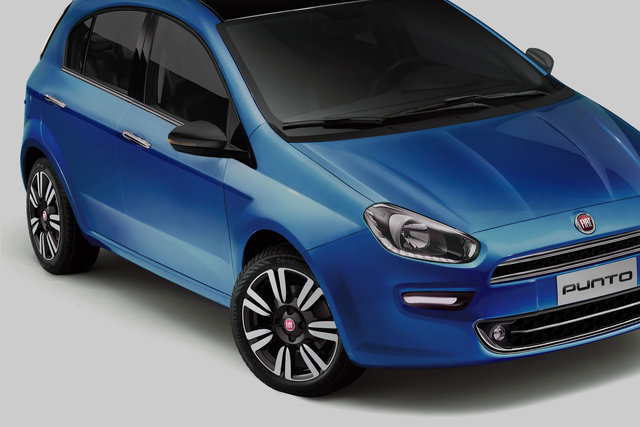 Fiat Punto Restyling/Facelift