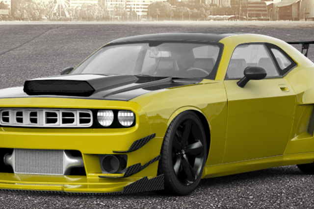 Dodge Challenger Super Bee GT4