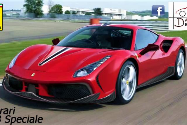 Ferrari 488 Speciale