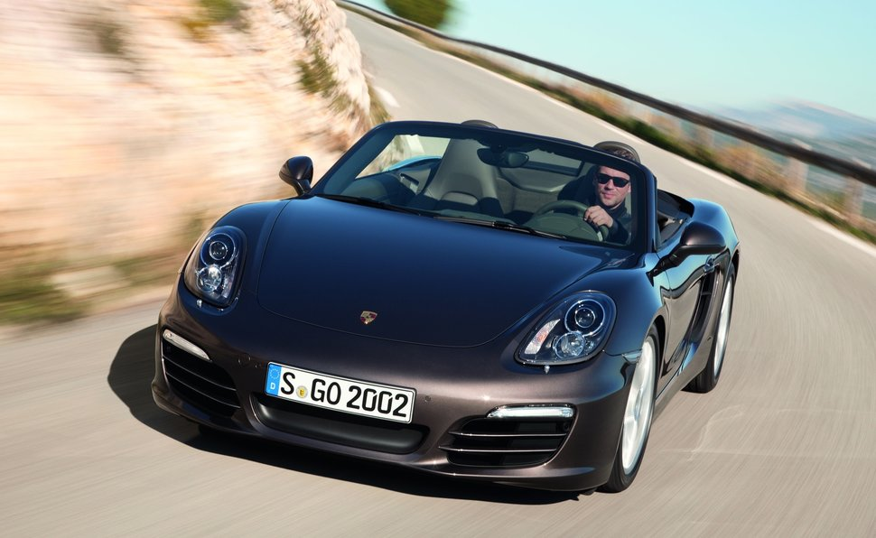 porsche 987 boxster 2.7 at 0-100