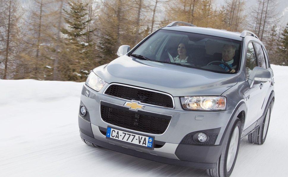 Chevrolet Captiva Prova Scheda Tecnica Opinioni E