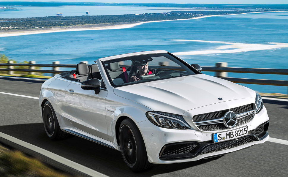 Mercedes C63 Amg Cabriolet on c63 amg convertible
