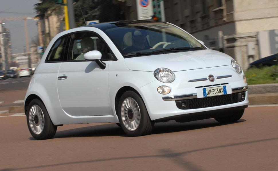 555352f119 Prova Fiat 500 scheda tecnica opinioni e dimensioni 1.2 Lounge Dualogic