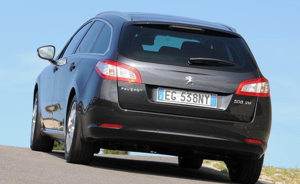 Prova Peugeot 508 Sw Scheda Tecnica Opinioni E Dimensioni 20 16v