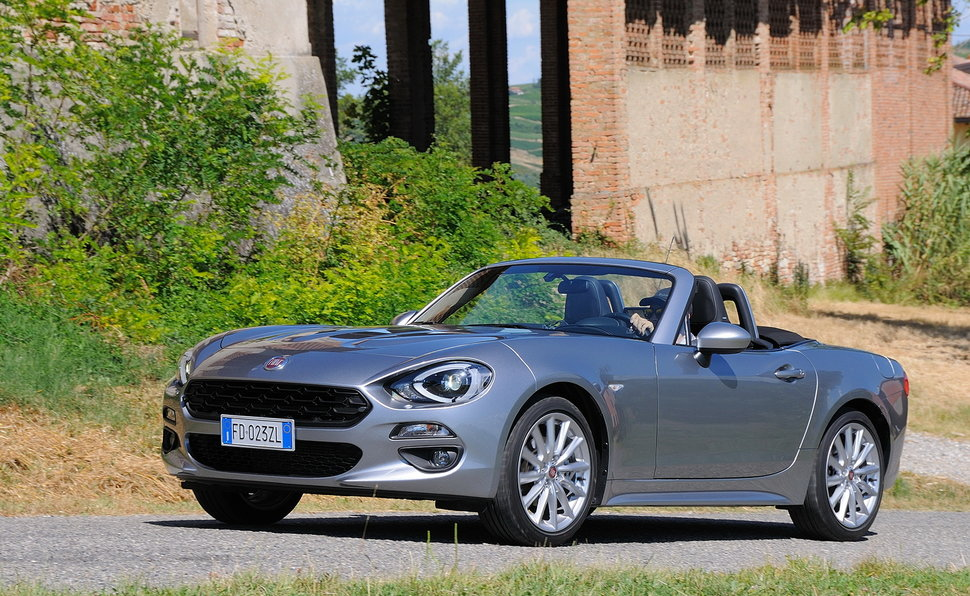 2017 Fiat Abarth Spider: Performance is In The Air | Adidas