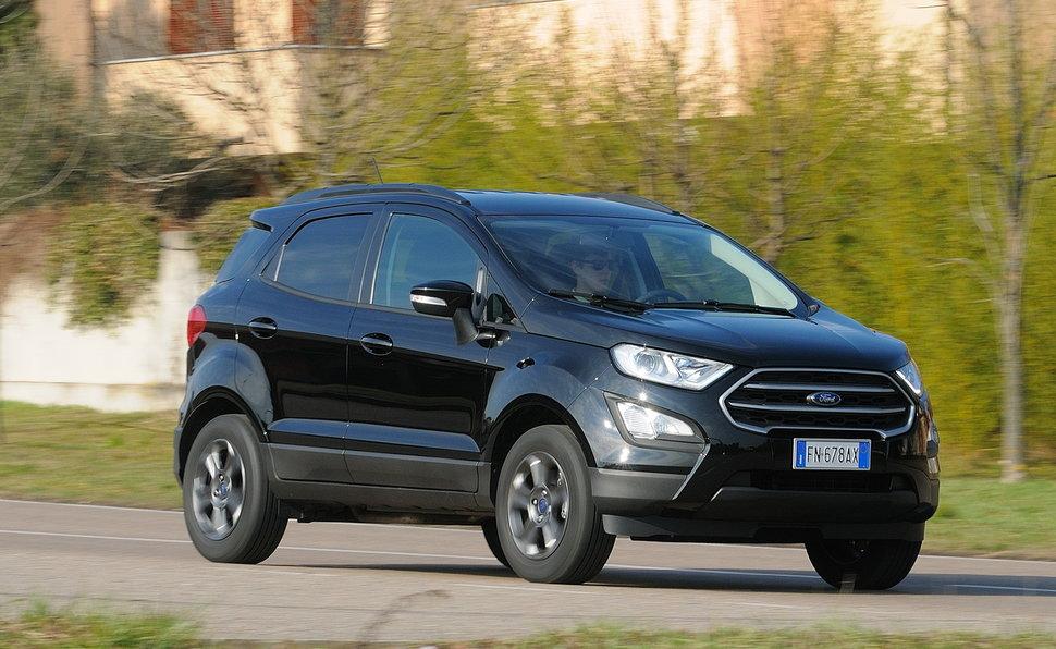 Prova Ford Ecosport Scheda Tecnica Opinioni E Dimensioni 1 5