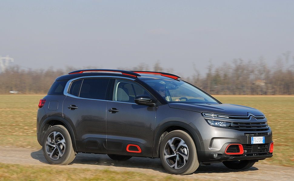 citroen c5 aircross dimensioni