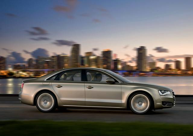 Per la nuova Audi A8 ci vogliono 93.000 euro