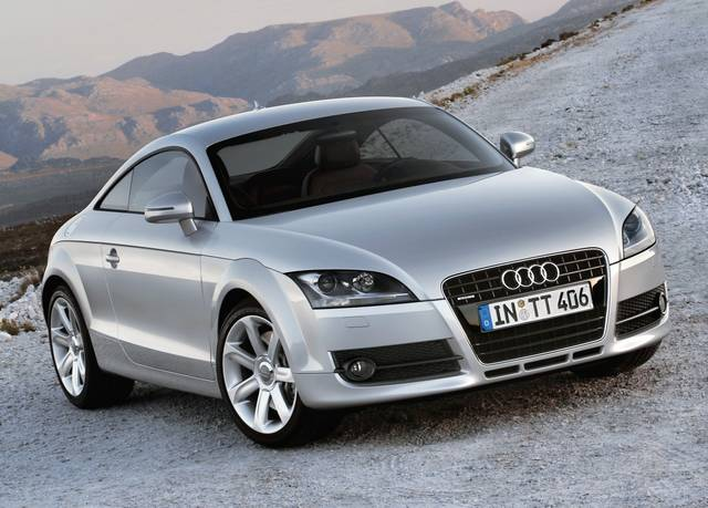 Audi TT, imminente il restyling