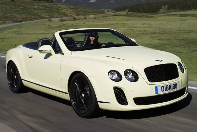 Bentley Supersports Convertible, la cabrio dei record