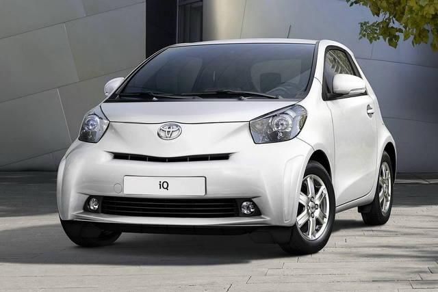 Toyota iQ EV: ha il motore elettrico della Prius
