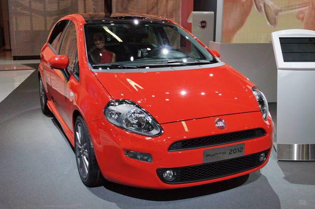 I prezzi della Fiat Punto 2012