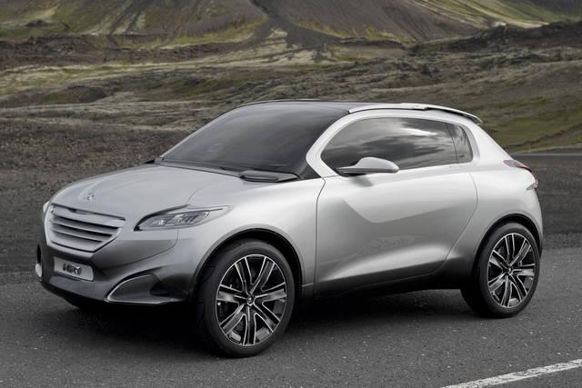 Peugeot 2008, debutto a fine 2012