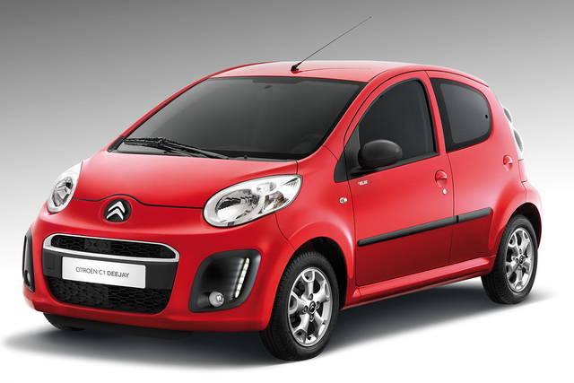 Nuova versione Deejay per la Citroën C1
