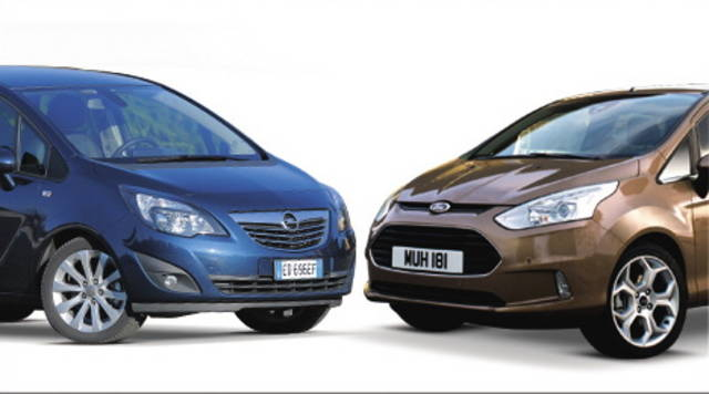 Costa di più la Ford B-Max o la Opel Meriva?