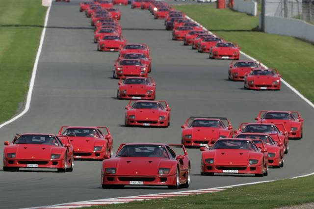 La Ferrari F40 Spegne 25 Candeline