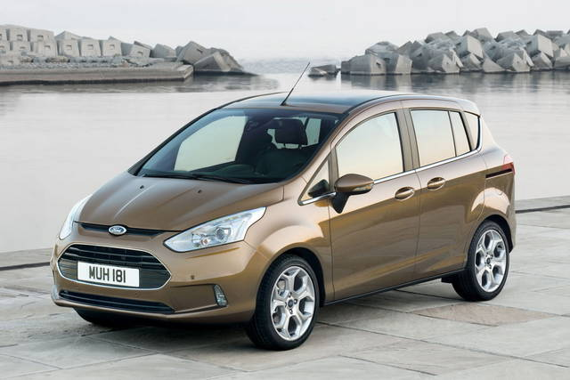 La Ford B-Max in tour per l'Italia