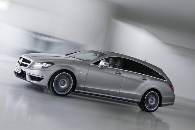 Cura AMG per la Mercedes CLS Shooting Brake