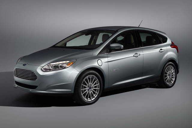 Touch screen e comandi vocali per la Ford Focus elettrica