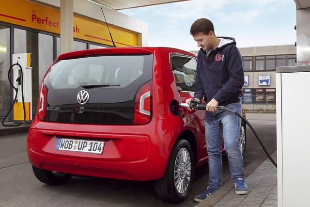 I prezzi della VW eco up! a metano