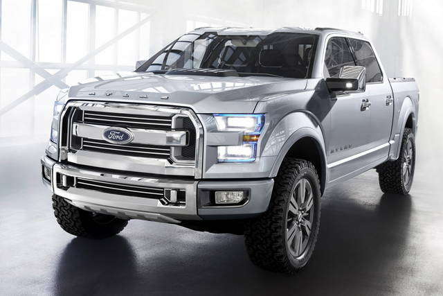 Ford Atlas, il pick-up si fa tecnologico