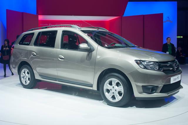 Guarda in alto la nuova Dacia Logan MCV