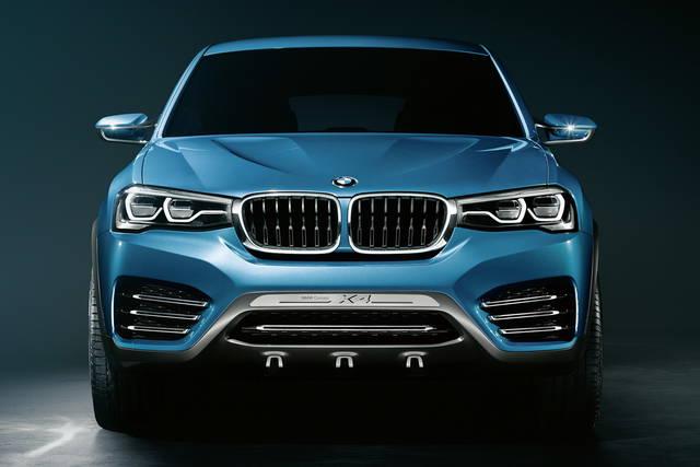 BMW X4, la suv un po' coupé