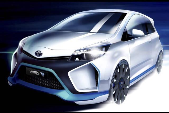 Tecnica da corsa per la Yaris Hybrid-R