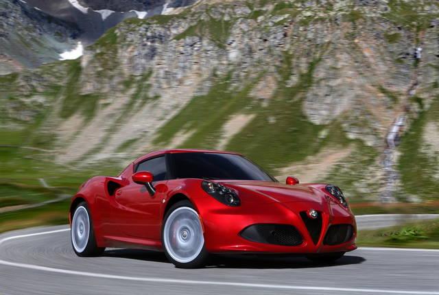 Alfa romeo 4c prezzi e optional for Alfa romeo prossime uscite
