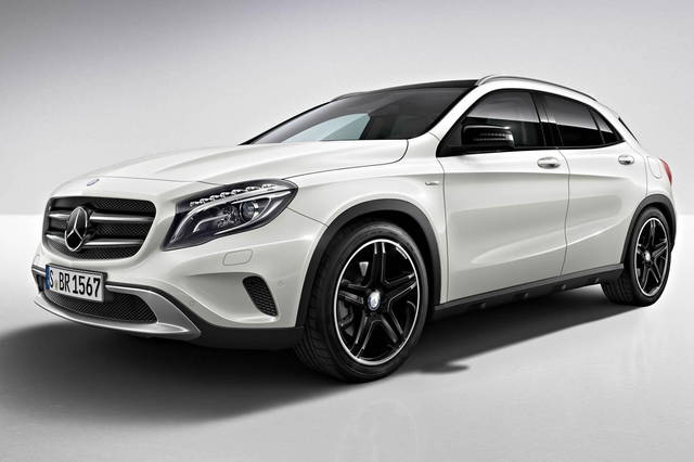 Anche la Mercedes GLA è in Edition 1