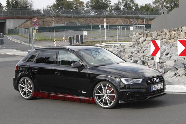 Le Foto Spia Dell Audi Rs3