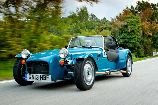 Caterham Seven 160, divertimento accessibile