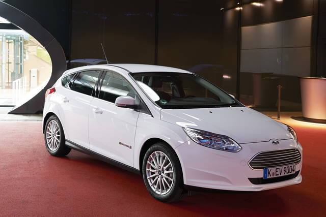 Arriva la Ford Focus Electric