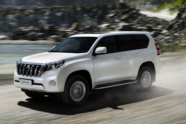 La Toyota Land Cruiser arriva in Italia