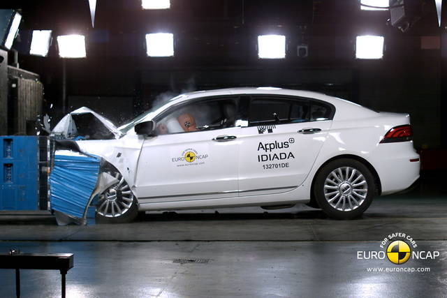 Crash test: una cinese a 5 stelle EuroNCAP