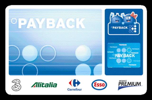 Payback: una sola tessera, tante raccolte