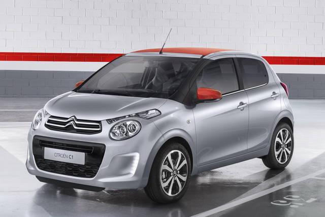 È tutta nuova la Citroën C1
