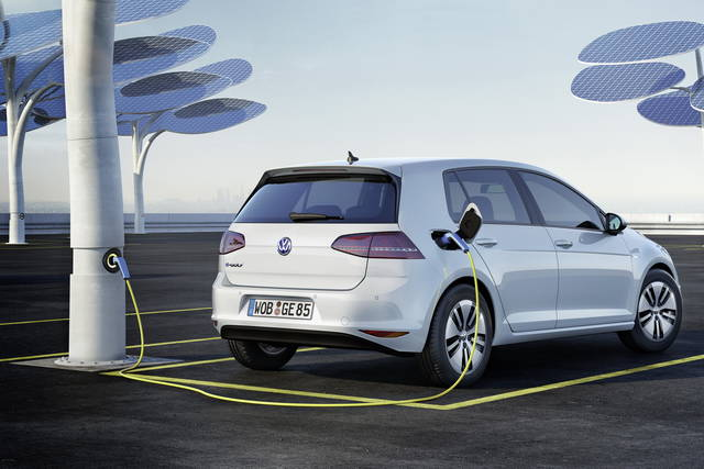 Volkswagen e-Golf al debutto in Germania